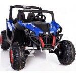 BIG BOY Dětské elektrické ATV s náhonem na všechny kola modré