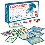 Pexi Evoluce: Kontinenty