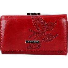 Loren Dámská kožená peněženka ti Melba červená