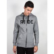 894193f9f5ee Ride Logo Full Zip Pánská mikina šedá