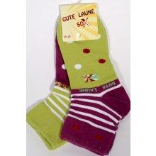 Sockswear GUTE LAUNE sada puntíkatých ponožek