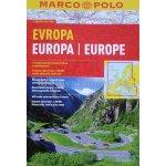 Evropa-Europa atlas-spirála 1:800 000 MD