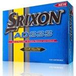 Srixon AD333 Yellow Balls 2014