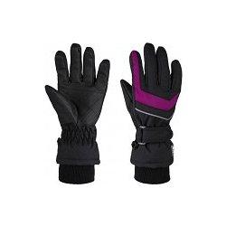 Loap Renko dětské zimní rukavice černá   růžová od 229 Kč - Heureka.cz 27f6b762b7