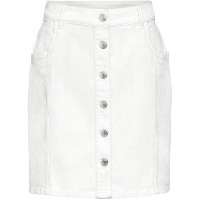 Esmara dámská džínová sukně bílá