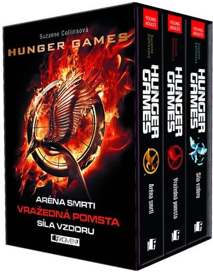 Hunger Games - komplet - Suzanne Collins