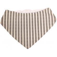 Kikadu Bryndák šátek šedé proužky 85c7e2b7cb