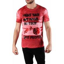 ! Absolut Joy Men T Shirt Červená /