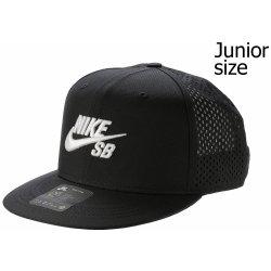 dětská kšiltovka Nike SB Arobill Trucker Youth 010 Black Black Black White 8718254da4