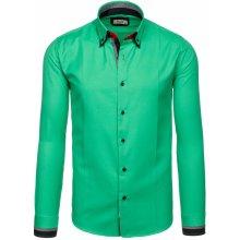 Pánská košile 120-2CO Bolf Barva: zelená