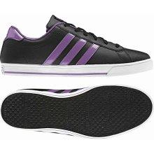 Adidas SE Daily QT Ladies Trainers Black/LabPurple