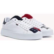 TOMMY HILFIGER bílé kožené tenisky Fun Retro Light Sneaker f0ea2bb8c7