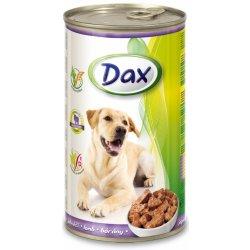 Dax Dog kousky jehně 12 x 1240 g