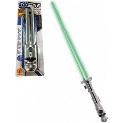 Star Wars - Světelný meč vysouvací Ahsoka Tano, zelený