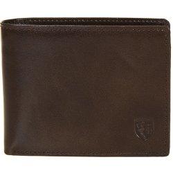 Franco Bellucci pánská tmavě kožená peněženka dva v jedné M 22 tlač.znak  hnědá 63cdebade9