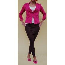 LM moda Dámské legíny se sukní hnědé podzimní f627571a35