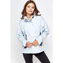Sportovní outdoorová modrá jarní bunda