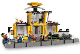 Lego City 4513 Grand Central Station - 0