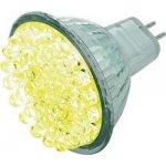 LED žárovka Basetech GU5.3 1,7 W 12 V žlutá
