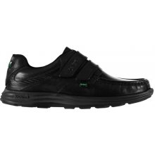 Kickers Reasan Strap Shoes Mens Black