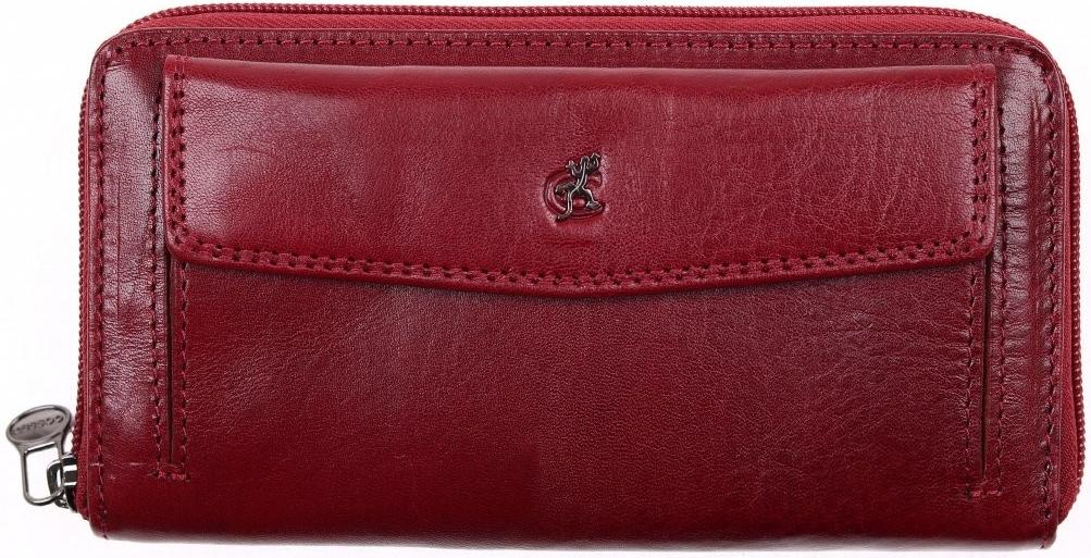 Cosset Velká dámská kožená peněženka na zip 4491 Komodo vínová od 1 090 Kč  - Heureka.cz 2d85d2ed2a