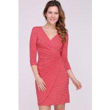 Revdelle letní puntíkaté šaty Myriam červená e16c4c6b14