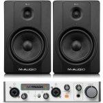 M-Audio BX8 D2 + M-Track MKII SET