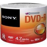 Sony DVD-R 4,7GB 16x, spindle, 50ks (50DMR47SP)