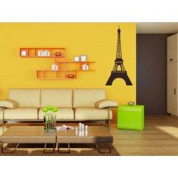 Samolepící dekorace Eifelova věž 001 - 60x131 cm - VelkeSamolepky.cz