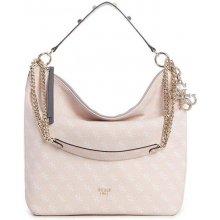 Guess Mia Logo Hobo Bag Blush 756c1af8128