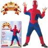 Šaty Pavoučí hrdina 130 - 140 cm - (Kostým na karneval-Pavoučí hrdina 130-140cm 9-12 let ; Spiderman ; Pavoučí muž 130-140 cm ; Kostým na karneval ; Šaty na karneval ; karnevalový doplňek ; Karnevalov