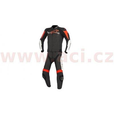 Dvoudílná kombinéza Alpinestars CHALLENGER černá/bílá/červená