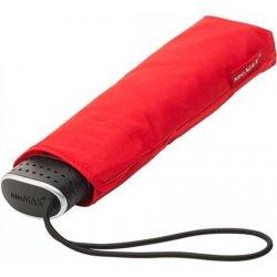 Plochý skládací deštník Malibu červený