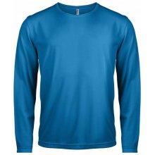 Tričko s dlouhým rukávem Královsky modrá