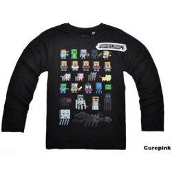 Dětské tričko Minecraft Spirits dlouhý rukáv černé alternativy ... 4dff06f797