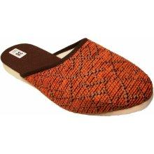Dámské domácí pantofle Bokap 002 oranžové