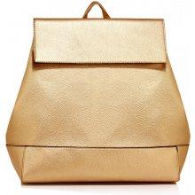 Anna Grace elegantní batoh s čistým designem zlatý 86547d8971