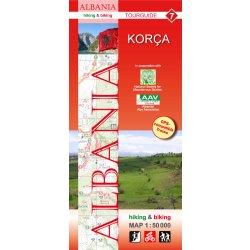Korca Turisticka Mapa Albanie Mapa A Pruvodce Nejlepsi Ceny Cz