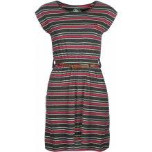 Ocean Pacific Belt Dress dámské Charcoal