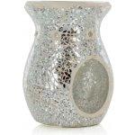 Ashleigh & Burwood aroma lampa MOONLIGHT s ručně skládanou stříbrnou mozaikou
