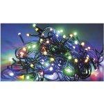LED vánoční řetěz na baterky S ČASOVAČEM 50 LED 31981 délka 5 m, IP20 - pro vnitřní použití