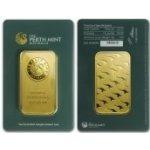 Perth Austrálie Mint zlatý slitek 100 gramů Investiční zlatý slitek