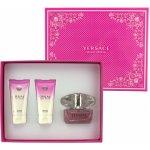 Versace Bright Crystal EDT 50 ml + tělové mléko 50 ml + sprchový gel 50 ml dárková sada