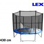 LEX 430 cm + ochranná síť