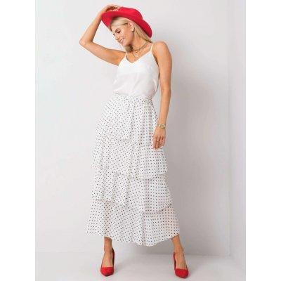 Volánová sukně s puntíky tw-sd-bi-0725.99 white
