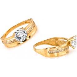 Zlatý zásnubní prsten Tiffany 1 IZ6811 alternativy - Heureka.cz 979ed4c1f1f