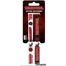 Festivalový náramek Deadpool Set 2 kusy FWR68063 CurePink