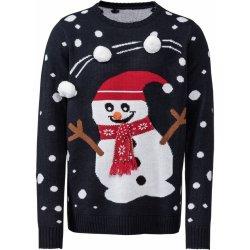 LIVERGY® Pánský vánoční svetr sněhulák 7b54f8679c