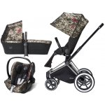 Cybex Set Priam All Terrain Chrome Seat Lux Fashion 2018 Butterfly