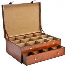Balmuir kožená krabice na kravaty Gregor cognac fcd01cda38